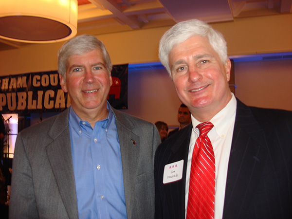 Gov. Snyder and Me