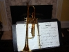 Bach Trumpet and chart